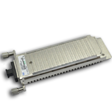 10GBASE-SR XENPAK transceiver module for MMF, 850-nm wavelength, SC duplex connector